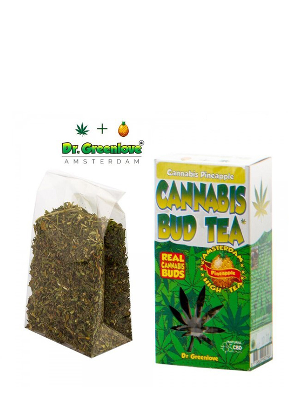 Loose Pineapple Cannabis Tea in box