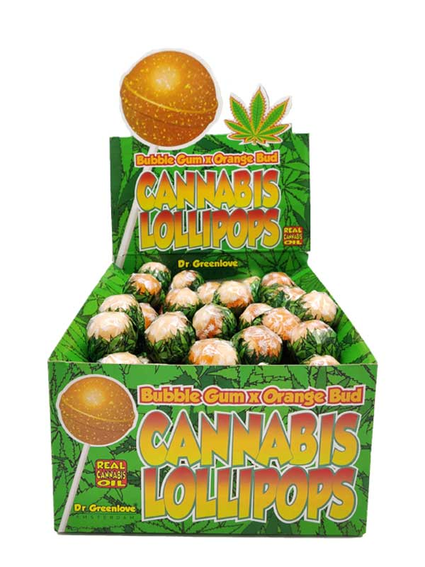 Cannabis Lollipops Orange Bud